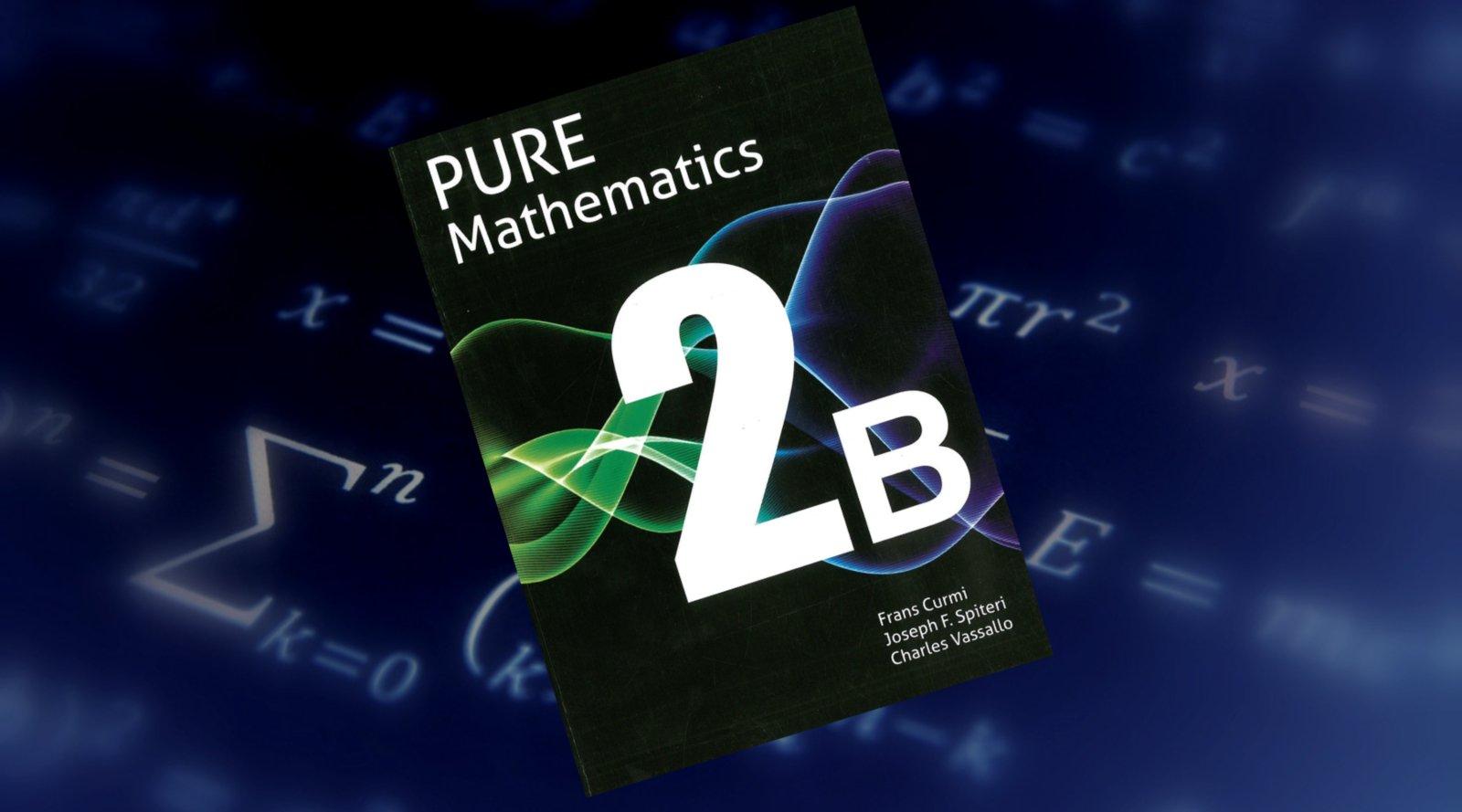 PURE Mathematics 2B