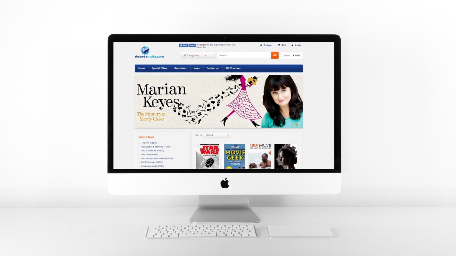 Launch of www.agendabookshop.com
