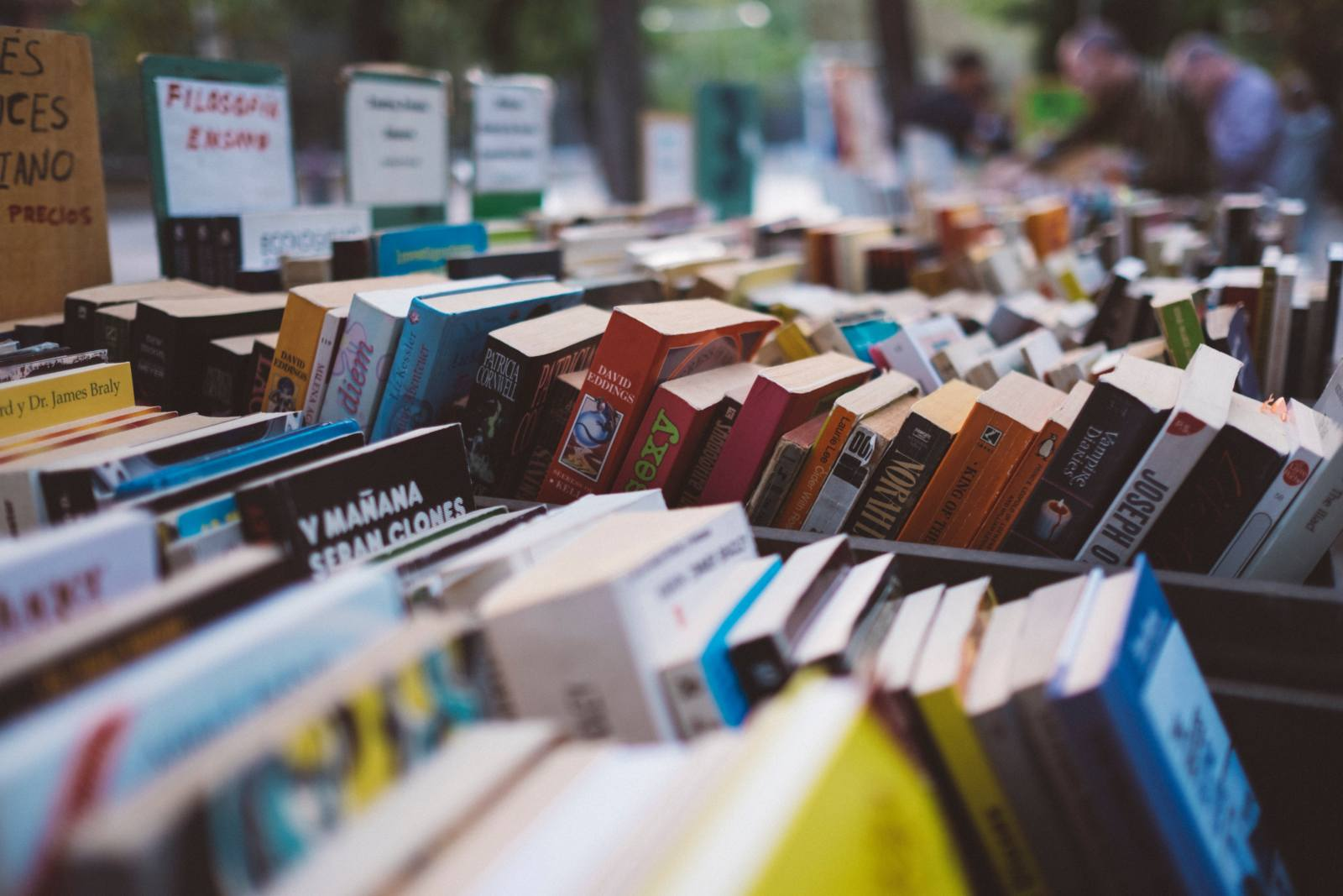 The Grand Book Sale supports Puttinu cares