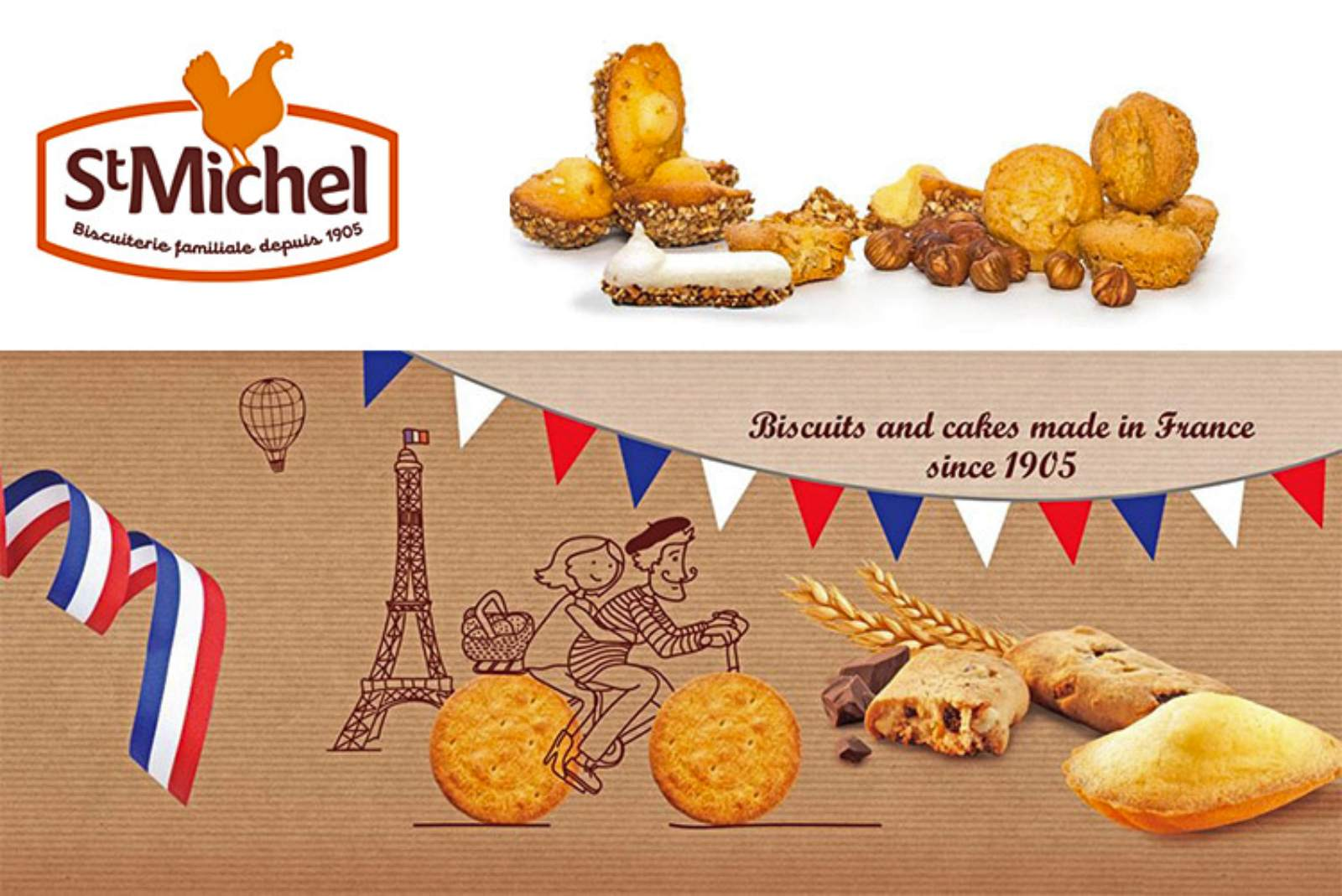 Miller Distributors Ltd appointed Local Distributor for St Michel Biscuit