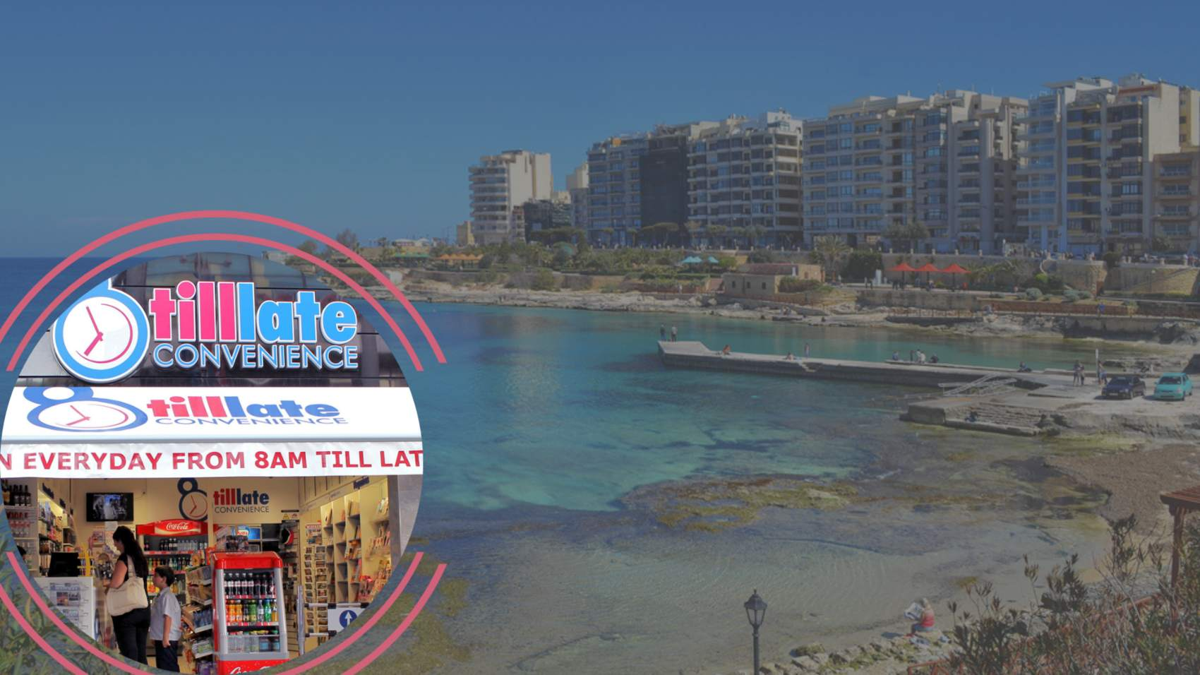 New 8 Till Late Convenience in Sliema