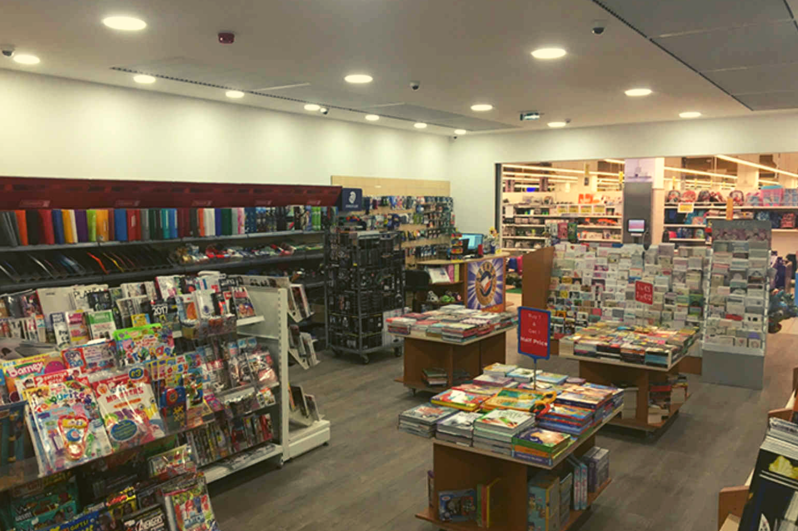 Agenda Bookshop at Pavi Supermarket relocated
