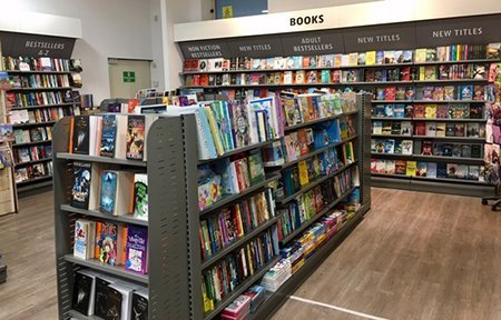 Agenda Bookshop at Pavi Supermarket refurbished