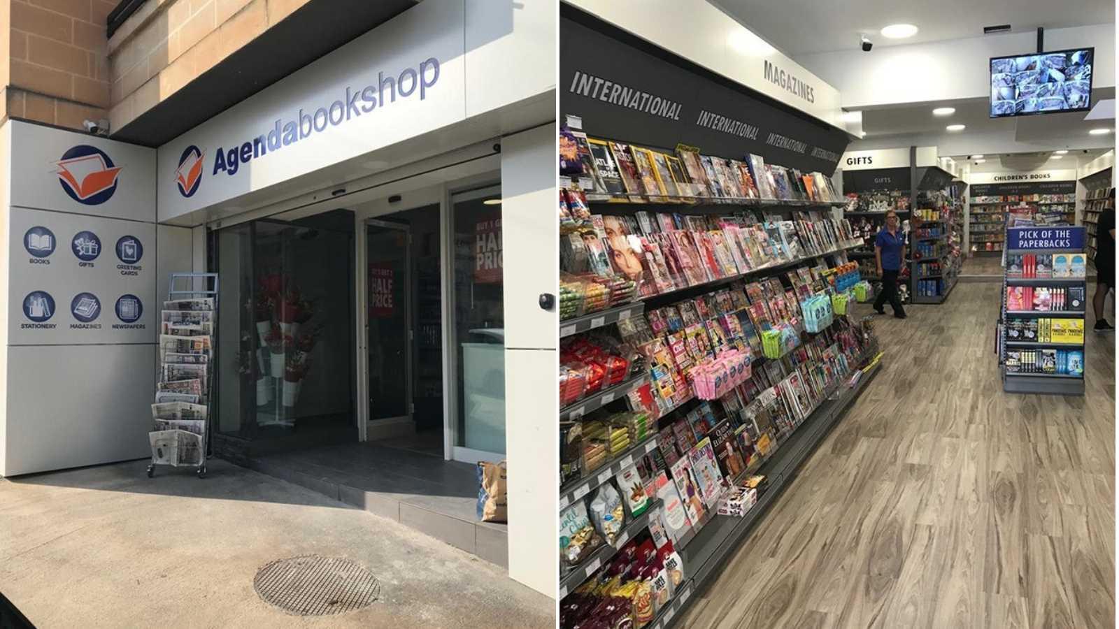 Agenda Bookshop at Topline Megastore now relocated to Ibraġġ