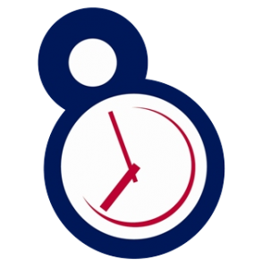 8 till late logogram