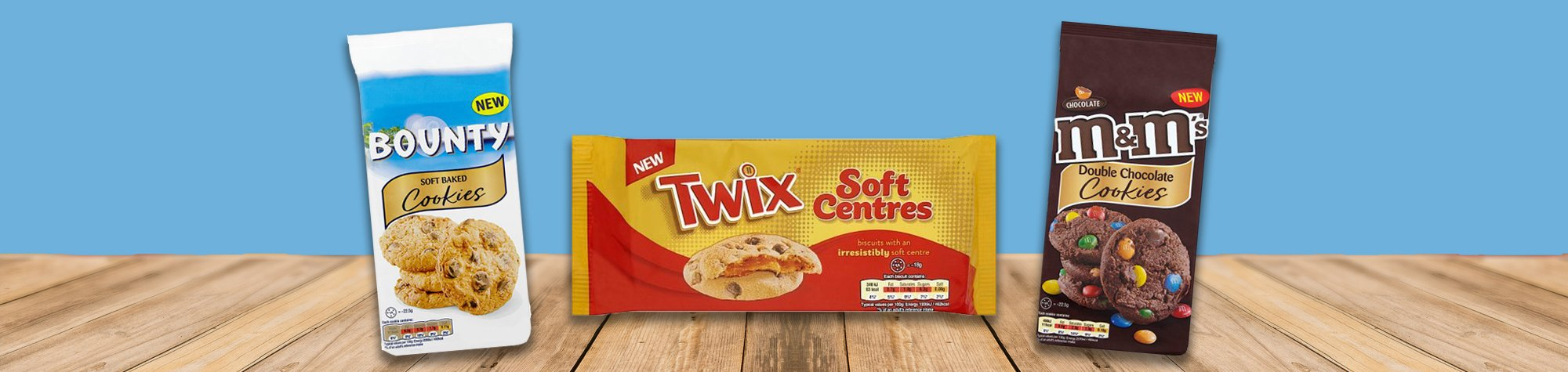 Miller Distributors Ltd appointed local distributor for Bounty cookies, M&M's cookies & Twix soft centres