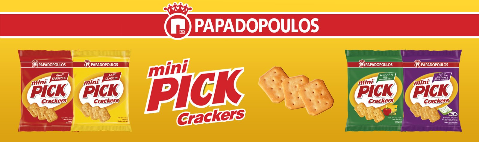 Miller Distributors Ltd appointed local distributor for PICK Crackers
