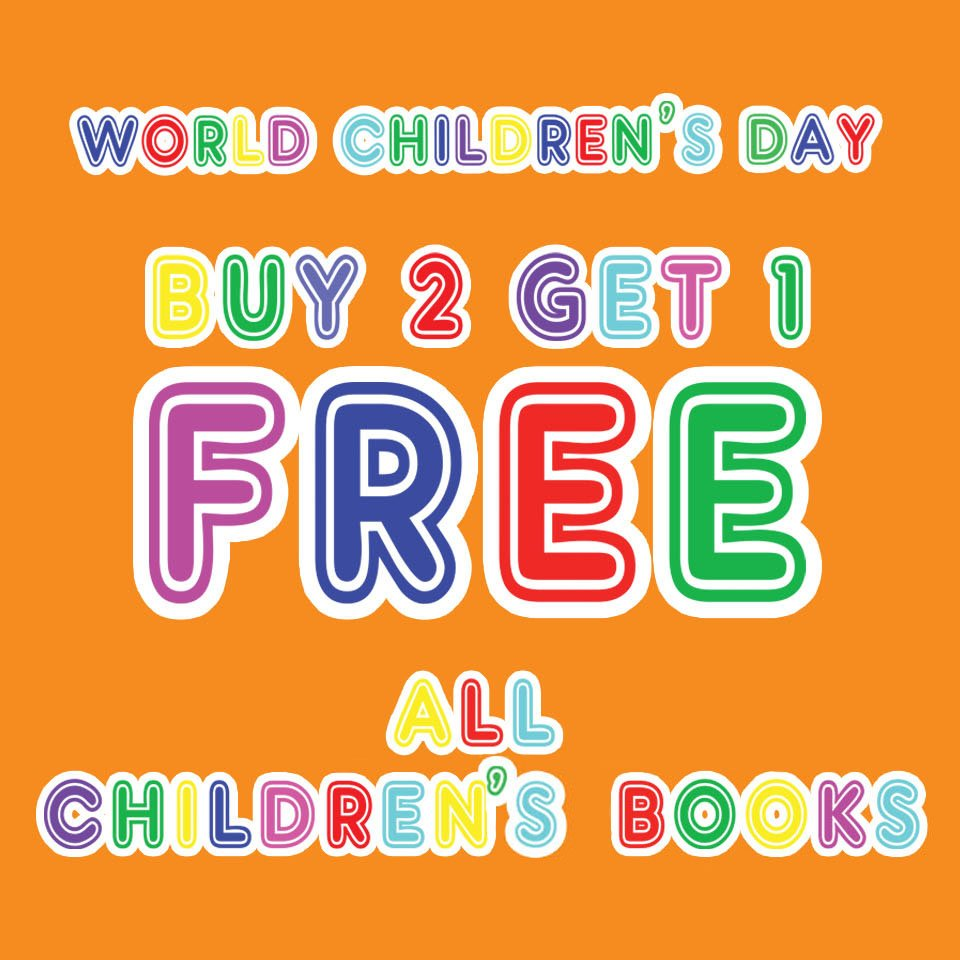 Week-long promotion in celebration of World Children's Day!