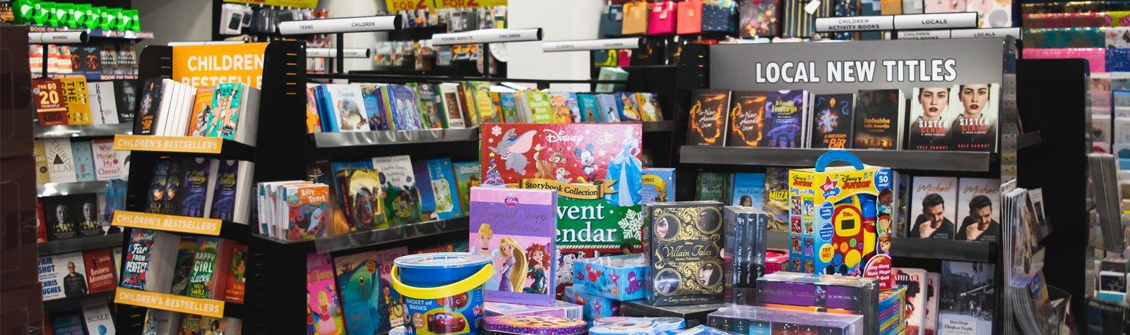New Agenda Bookshop on Tower Road, Sliema